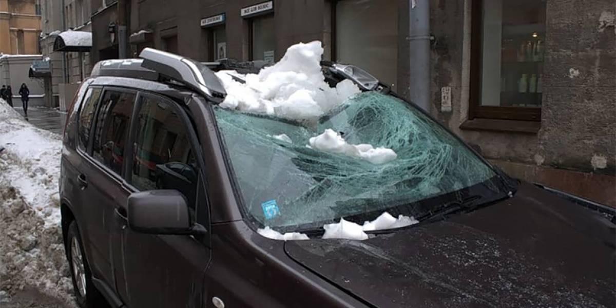 На авто упала сосулька/снег/дерево. За чей счет ремонт?